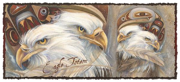 'Eagle Totem' Mug