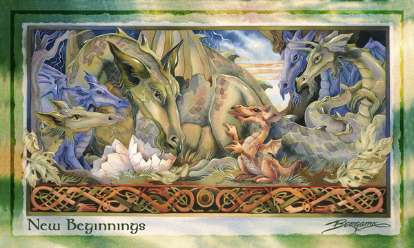 Mythological Creatures (Dragons) / Dragon - Mailable Mini