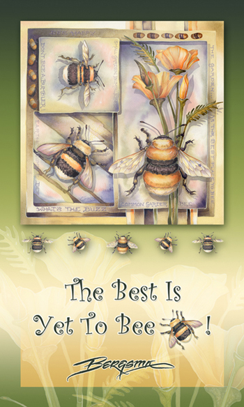 Bugs Misc. / The Best Is Yet To Bee - Mailable Mini