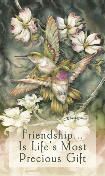 Hummingbirds / Friendship... - Mailable Mini