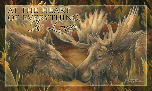 Moose / At The Heart Of Everything Is Love - Mailable Mini