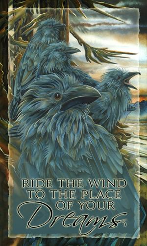 Ravens / Ravens... Forevermore - Mailable Mini