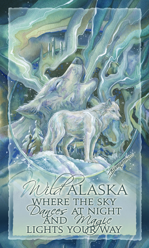 Wolves / Wild Alaska - Mailable Mini