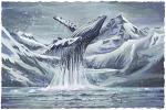 Dancing In Glacier Bay Large Prints (Click for options & image enlargement)