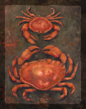 Don't Be Crabby - 11 x 14 in Poster