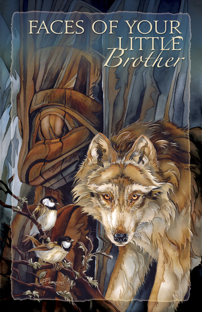Wolves / Faces Of Your Little Brother - 11 x 17 inch Poster