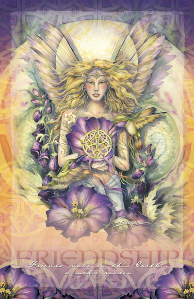 Faeries / Faith - 11 x17 inch Poster