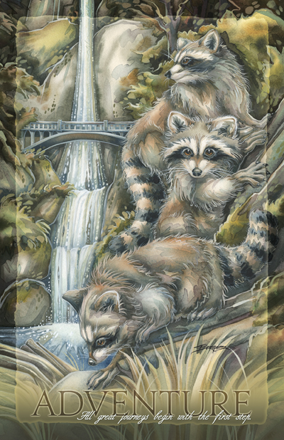Raccoons/ Mischievous Adventures