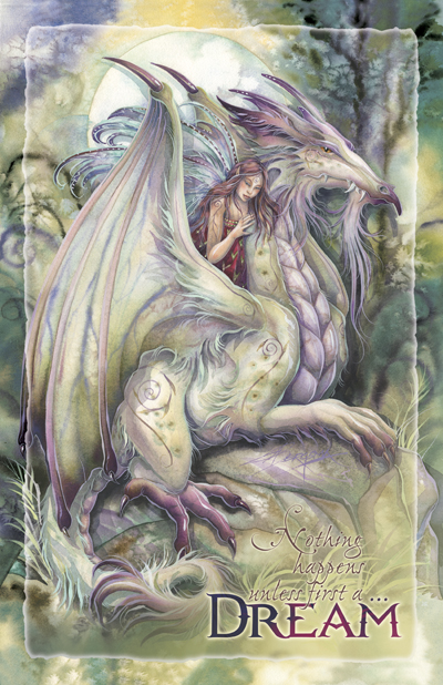Mythological Creatures (Dragons) / Nothing Happens Unless First...