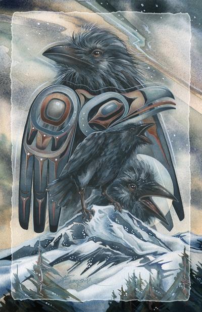 Ravens / Spirit of the Mountain