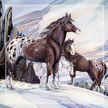 Medicine Horse - Tile