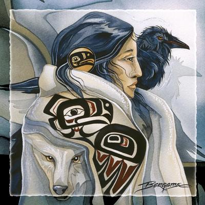 Raven Lady - Tile