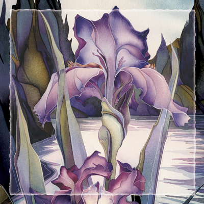 Irises / Lady Of The Lake - Tile