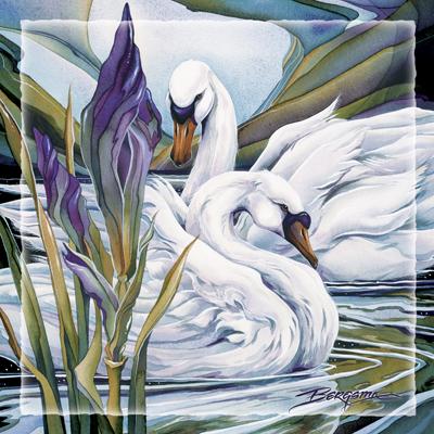 Swans / Everlasting Love - Tile