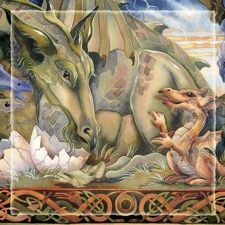 Mythological Creatures (Dragons) / New Beginnings