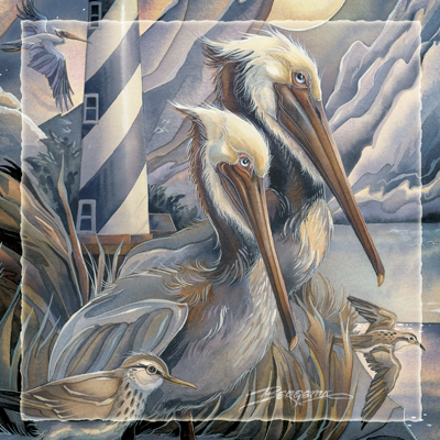 Pelicans / Life Is Beautiful... - Tile