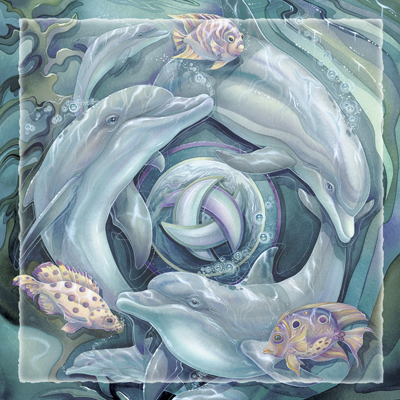 Dolphins / Dolphin Planet - Tile