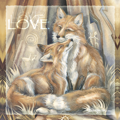 Foxes / Love's Way - Tile