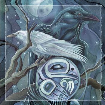 Raven Moon - Tile