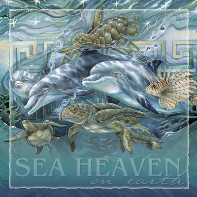 Dolphins / Sea Heaven On Earth - Tile