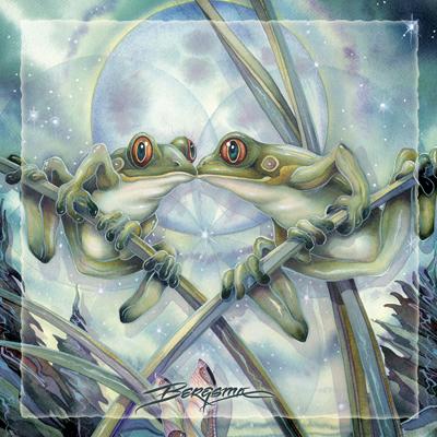 Frogs & Kisses - Tile