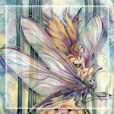 Faeries / Dragon Rider... The Greatest Success Is To Live Life In Your Own Way - Tile