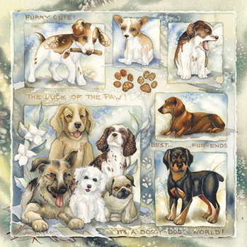 Dogs / It's A Doggy Dog World - Tile