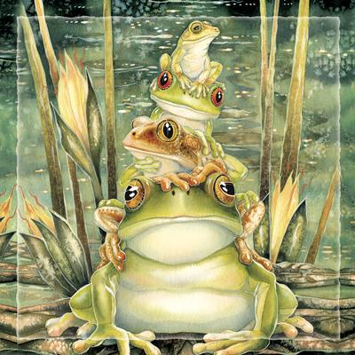 Top Frog - Tile