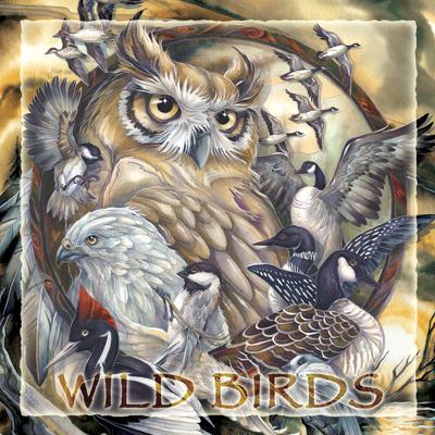 Wild Birds... - Tile