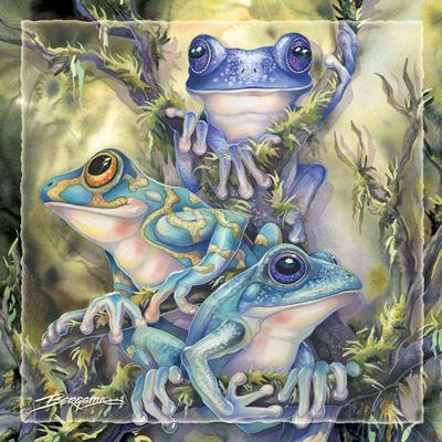 Frog Wild - Tile