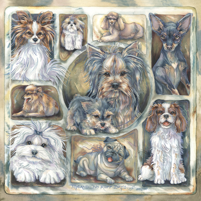 Dogs / Toyland - Tile