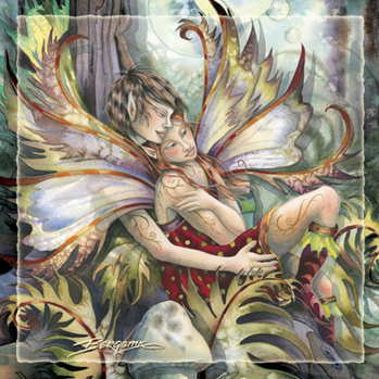 Faeries / Love Is The Only Thing That Is Real - Tile