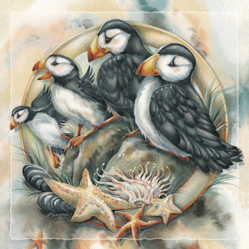 Puffins / Send In The Clowns - Tile