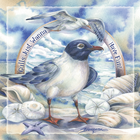 Seagulls/ Gulls Just Wanna Have Fun
