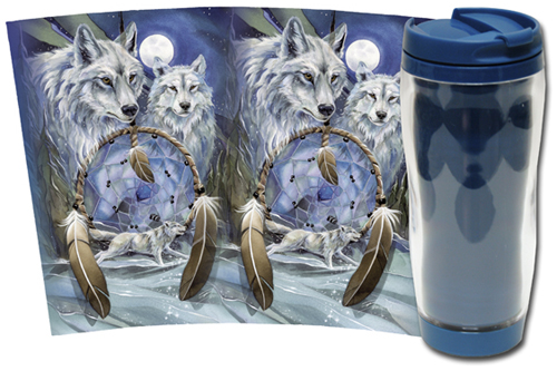 Wolves / Nothing Can Hold Back A Dream - Travel Mug