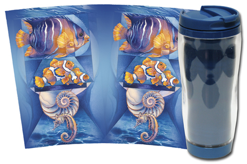 Fish (Topical) / Sea The Perfection - Travel Mug