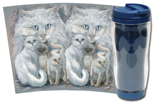 Cats / Soul Friends - Travel Mug