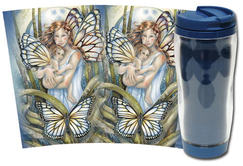 Faeries / I Will Love You Until The End Of Time - Travel Mug