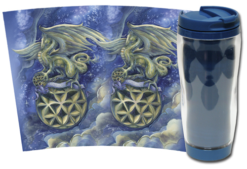 Mythological Creatures (Dragons) / Make Your Life Extraordinary - Travel Mug