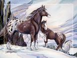 Medicine Horse - Easel Back Tile