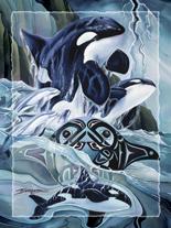 'Breath Of Power' Easel Back Tile