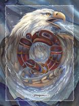 The Circle of Life - Easel Back Tile