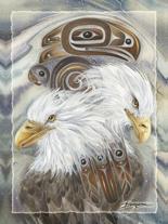 Spirit of the Wind - Easel Back Tile