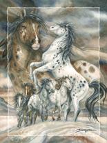 Unbridled Spirit - Easel Back Tile