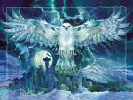 'Thunder of 12' - Easel Back Tile