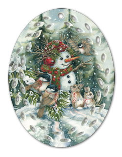 Frosted With Happiness - Ornament