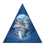 Mermaids & Sea Faeries / Fantasea... Where Dreams Begin - Pyramid Card
