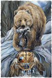 Bear Clan Large Prints (Click for options & image enlargement)