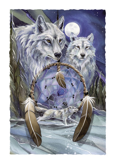 Wolves / Nothing Can Hold Back A Dream - Art Card