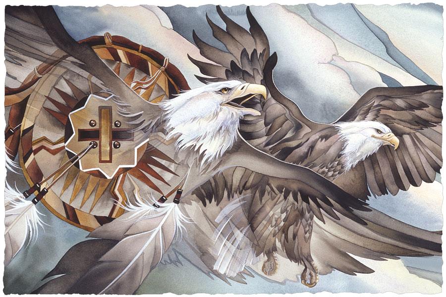 Eagle, Air, East - Prints